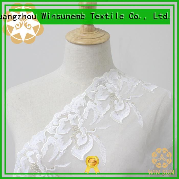 Winsunemb exquisite stretch lace trim shop now for fashion garment