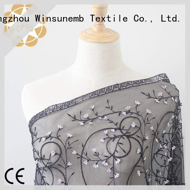 Winsunemb professional lace by the yard for manufacturer for underwear