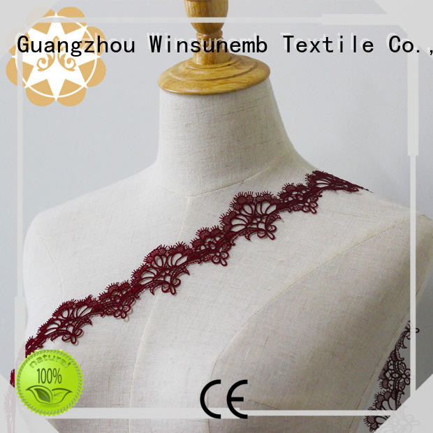 fine qualtiy lace trim by the yard producer for lingerie