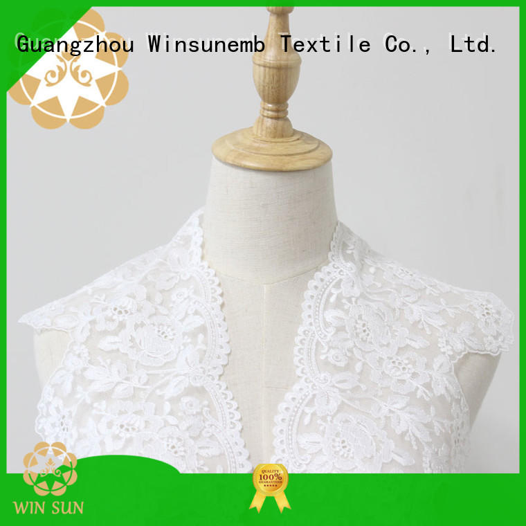 Winsunemb trims lace fabric grab now for bedclothes
