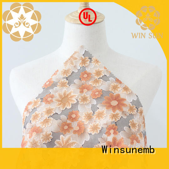 Winsunemb or Printed fabric wholesale for table cloth