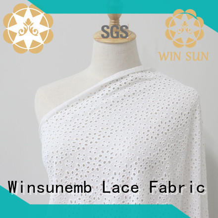 Winsunemb professional lace fabric online for manufacturer for underwear