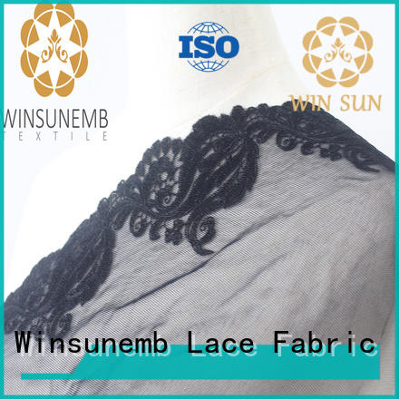Winsunemb competitive price lace trim by the yard grab now for bedclothes