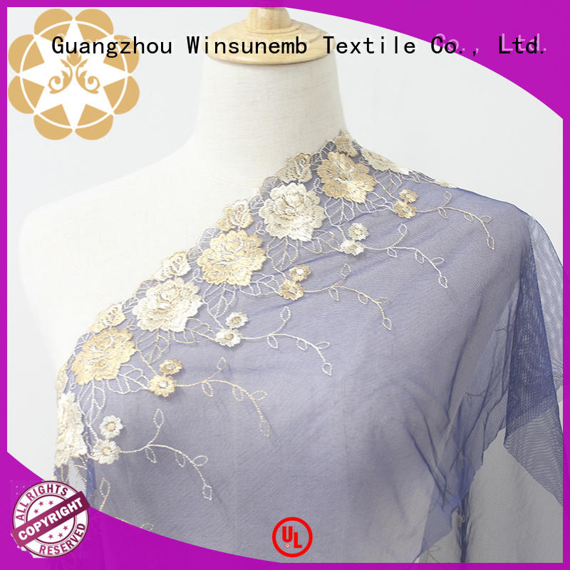 cotton vintage stretch lace Winsunemb manufacture