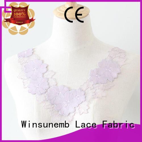 applique designs embroidered Bulk Buy flower Winsunemb