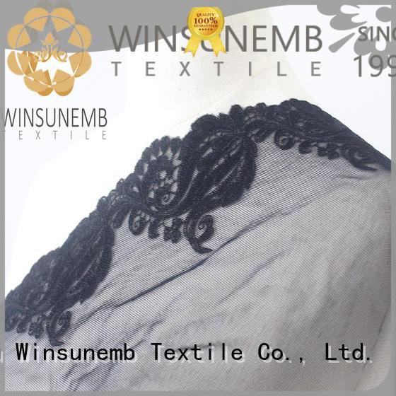 Winsunemb high-end cotton lace color for DIY