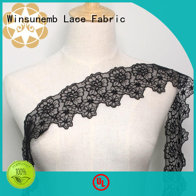 Wholesale design Embroidery Lace Trimming Winsunemb Brand