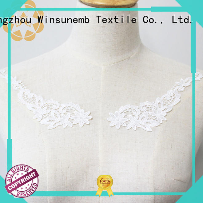 venise embroidery lace motif dropshipping for DIY