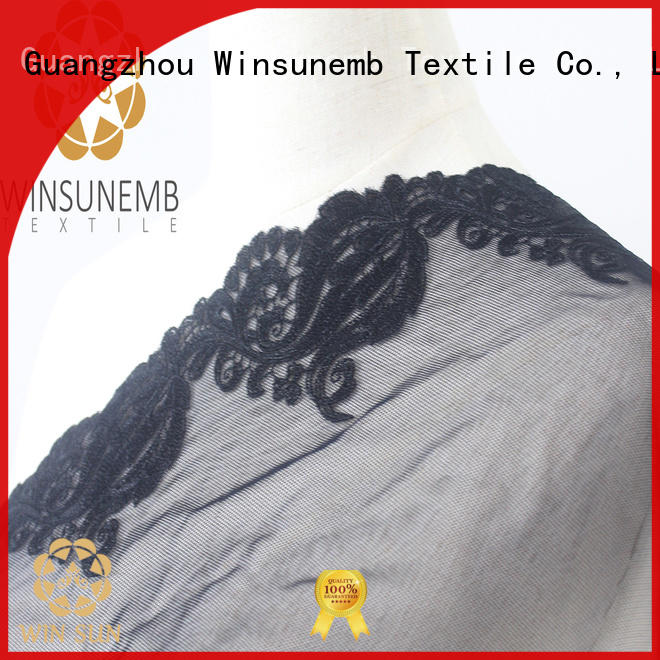 Winsunemb eco-Friendly elastic laces for lingerie