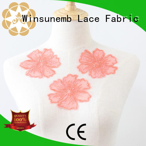 Fancy net embroidery motif trim for sexy lingerie, Bridal, Apparel or Crafts