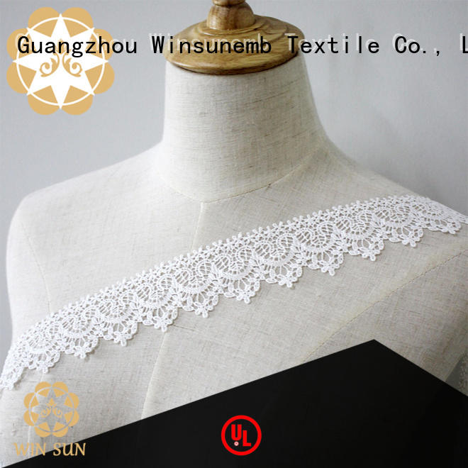 Winsunemb water Embroidery Lace Trimming grab now for DIY