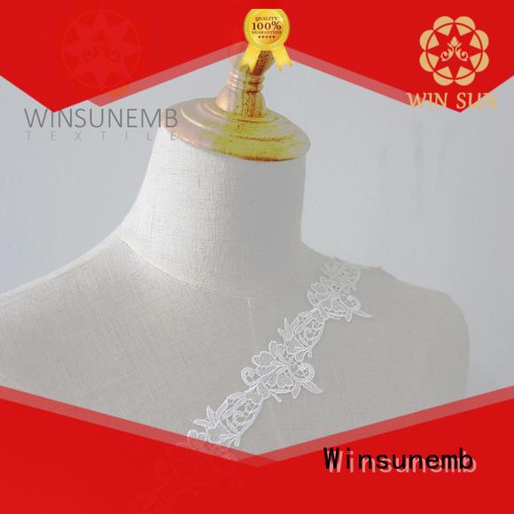 soft lace ribbon cotton bulk production for fashion garment