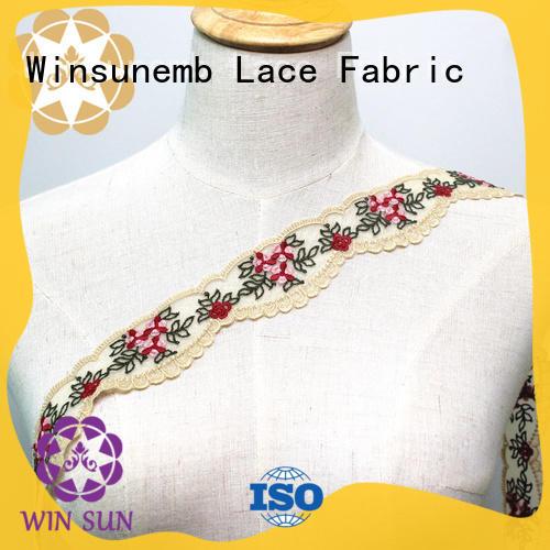 soft stretch lace bulk production for DIY