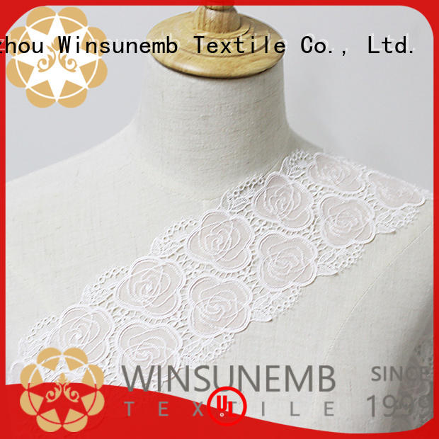 Winsunemb fine qualtiy lace trim by the yard shop now for lingerie