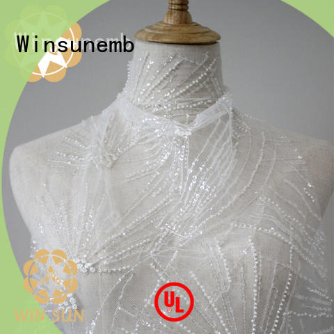 Winsunemb wedding lace for sale bulk production for apparel