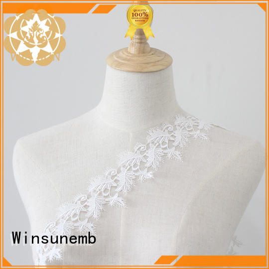 Winsunemb colorful Embroidery Lace Trimming grab now for fashion garment