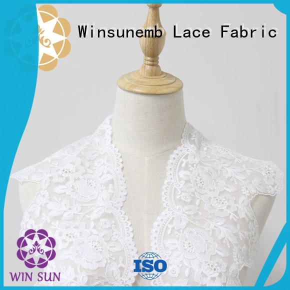 eco-Friendly Embroidery Lace Trimming order now for fashion garment