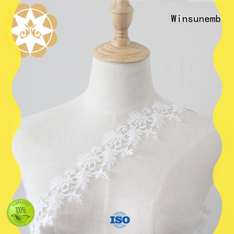 costumes lace fabric wholesale for bedclothes Winsunemb