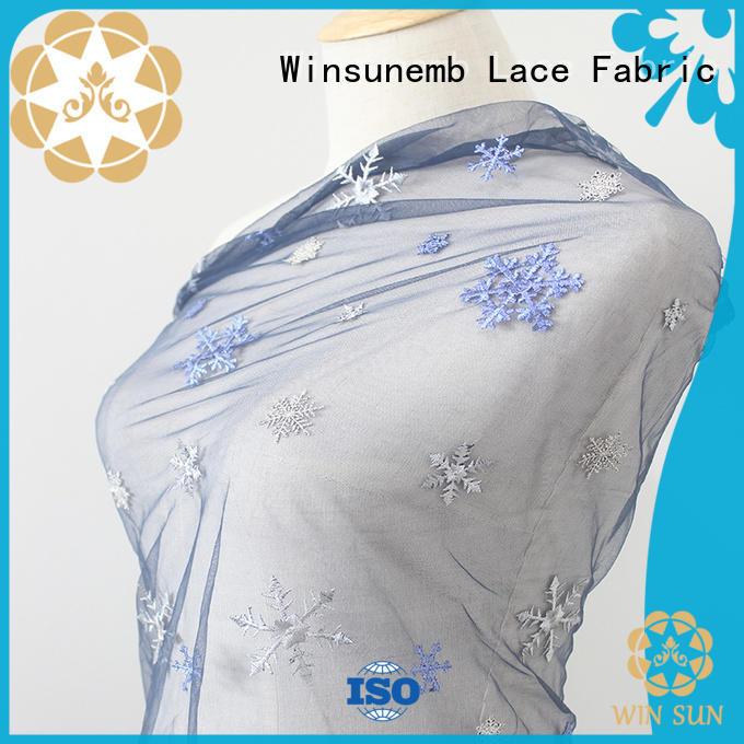 Winsunemb elegant guipure lace fabric order now for underwear