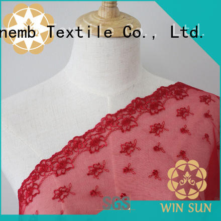 Winsunemb diy bridal lace by the yard for manufacturer for apparel