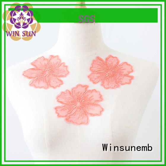 outstanding applique designs directly sale for DIY Winsunemb