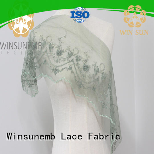 Winsunem attracts fansstyle embroidery lace Trimming .Underwear, wedding dress, skirt, children's wear, curtains, sofa decoration.T