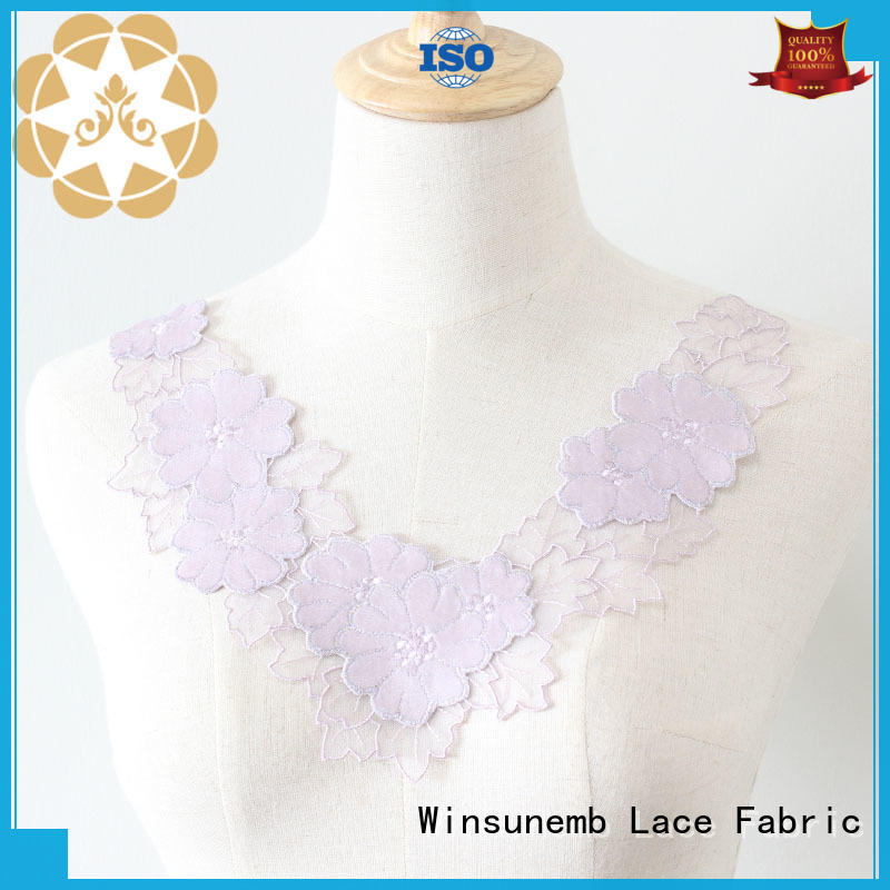 Winsunemb outstanding lace motif dropshipping for decorate