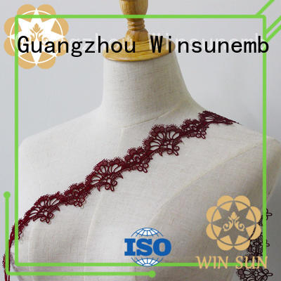 Winsunemb colorful lace trim by the yard grab now for fashion garment