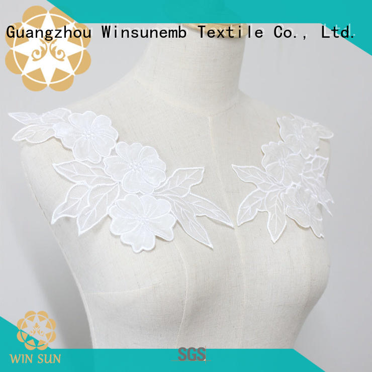 Winsunemb lace lace motif for manufacturer for chest corsage