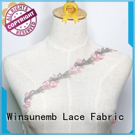 high quality lace trim by the yard childrens in china for DIY