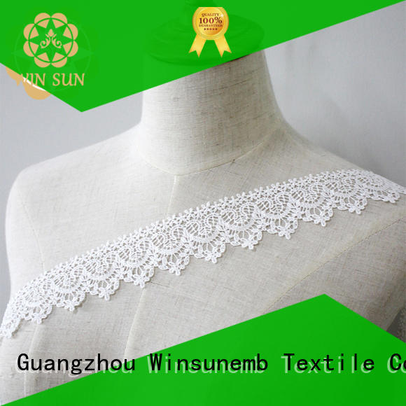 Winsunemb barbie stretch lace trim in china for DIY