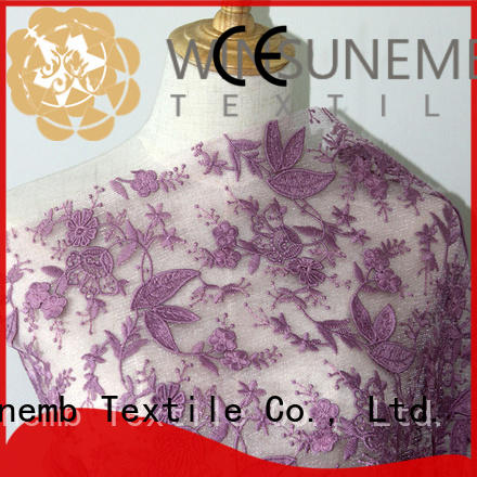 Best Selling Oem Design 3D Sequin Embroidery fabric  lace For Clothing African lace