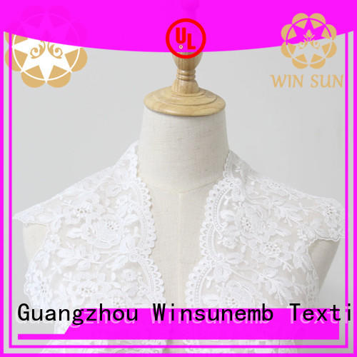Winsunemb exquisite lace ribbon producer for DIY