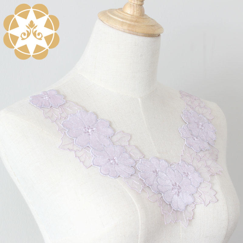 Winsunemb -Find Embroidery Lace Motif lace Neckline On Winsunemb Lace Fabric