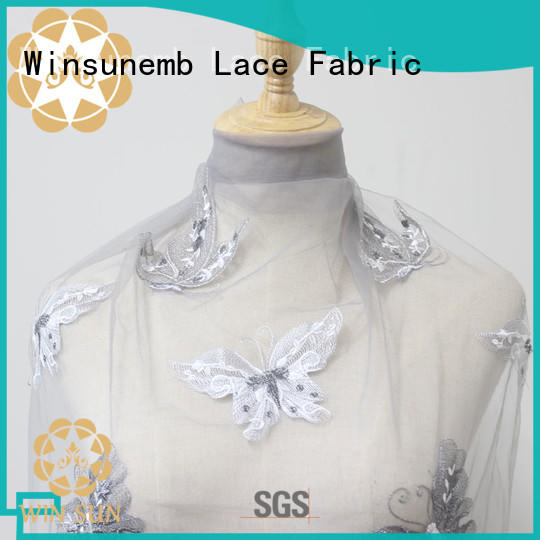 Winsunemb bridal lace fabric grab now for underwear