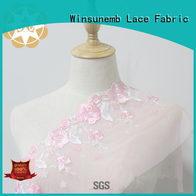 chemical lace trim by the yard in china for DIY