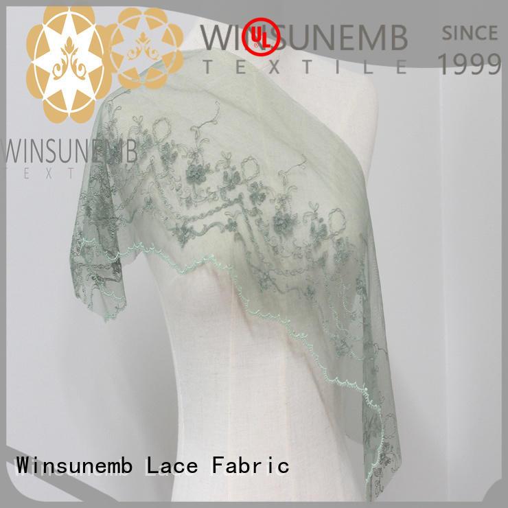 Winsunemb colorful lace ribbon singlewave for lingerie