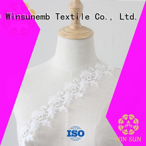 Winsunemb dress elastic laces grab now for fashion garment