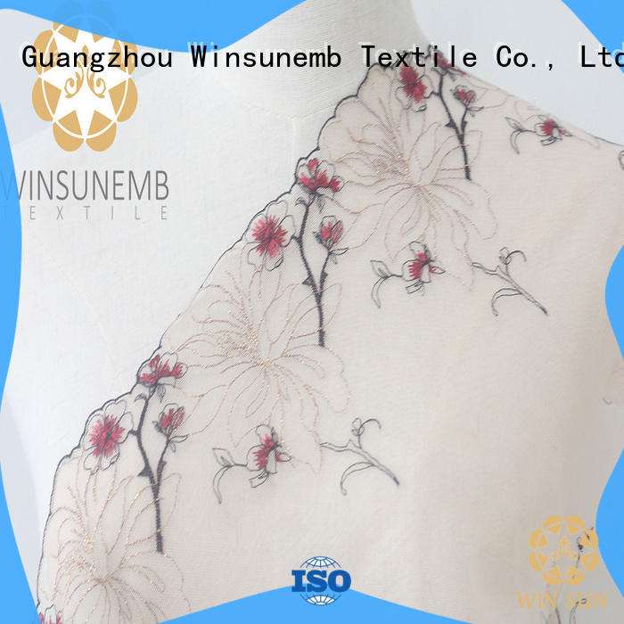 fine qualtiy lace fabric much order now for bedclothes