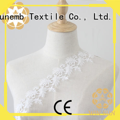 Winsunemb costumes stretch lace trim order now for DIY