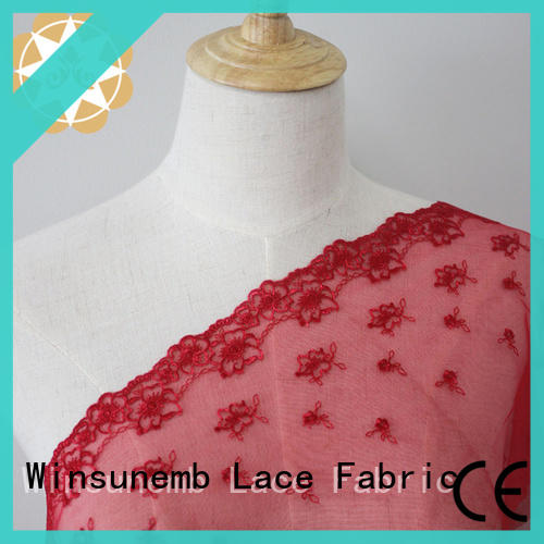 Winsunemb different color guipure lace fabric grab now for apparel