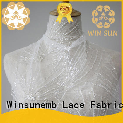 Winsunemb lace fabric wholesale grab now for apparel
