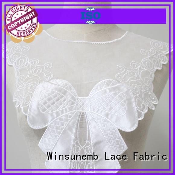 Winsunemb elegant lace neckline 24cm8cm for Lingerie