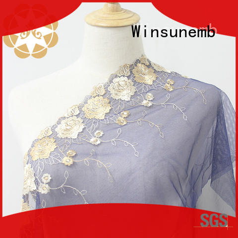 Winsunemb colorful lace trim grab now for bedclothes