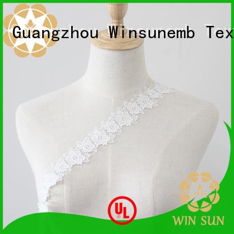 Winsunemb fine qualtiy lace ribbon grab now for fashion garment