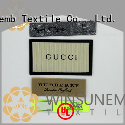 high-quality fabric labels labels wholesale for clothes