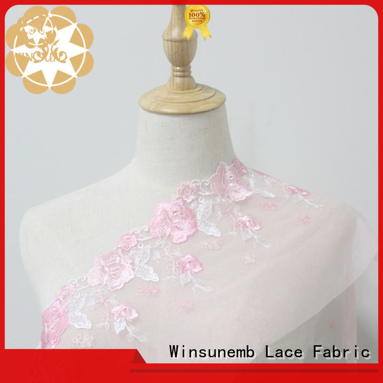 eco-Friendly lace ribbon mulberry for fashion garment