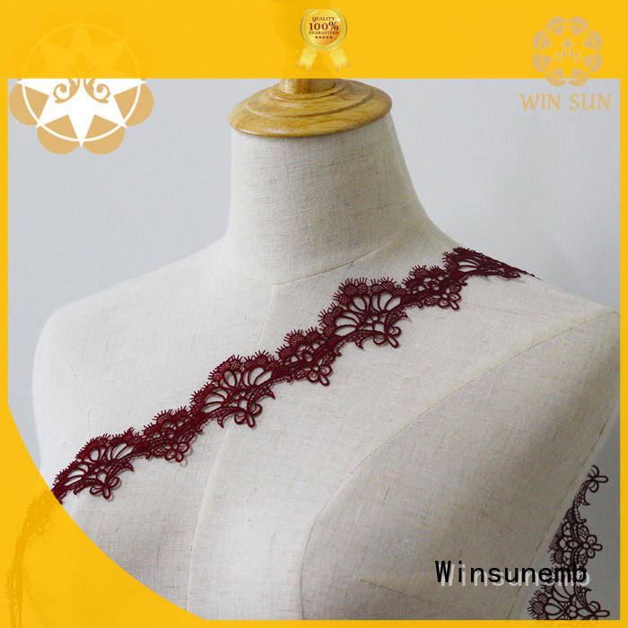 Embroidery Lace Trimming clothing grab now for bedclothes