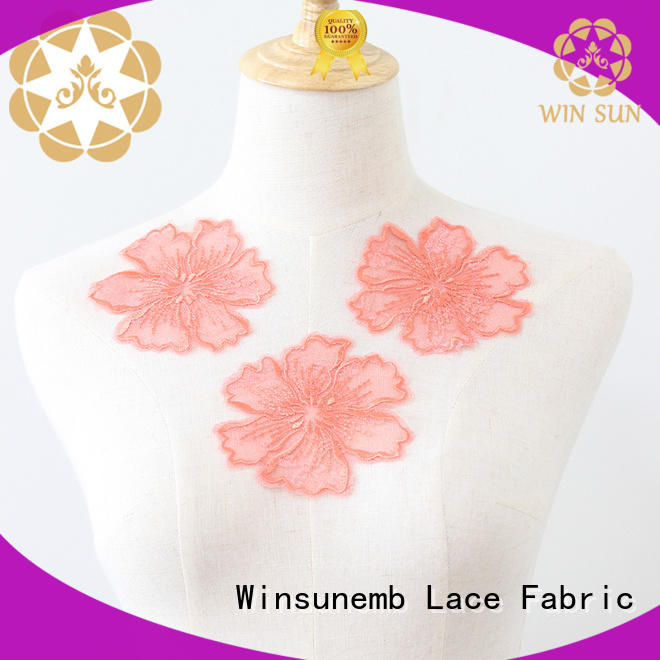 superior lace motif or in china for clothing collars