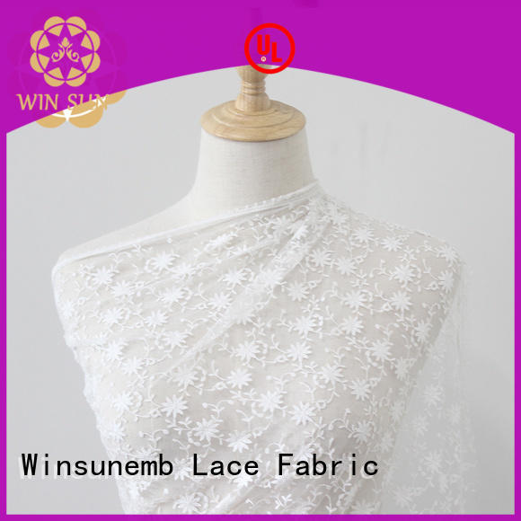 Winsunemb tulle bridal lace by the yard grab now for underwear